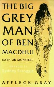 Big Grey Man of Ben MacDhui book