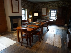 The Stone Store, dining room