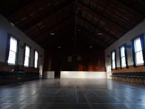 Interior of the Puhoi Centennial Hall.