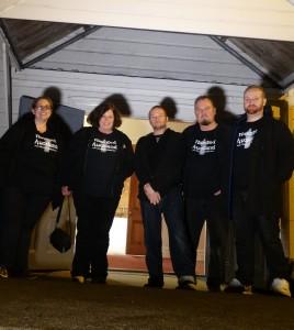 Haunted Auckland - Puhoi Investigation team
