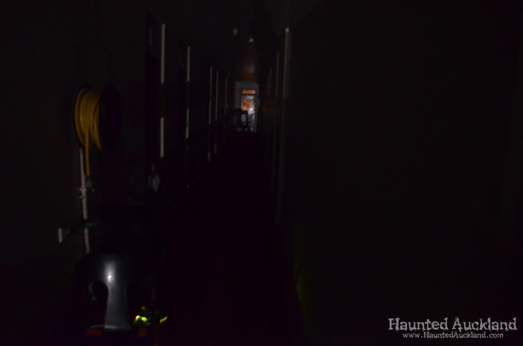 Darkened corridor - Spookers, Kingseat