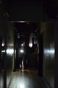 Team investigates - Spookers, Kingseat