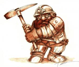 Dwarven-Miner