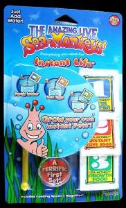Sea-monkeys starter pack, mine