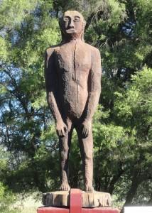 Yowie Statue, Yowie Park, Kilcoy, Queensland