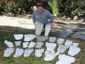 Rex Gilroy with casts