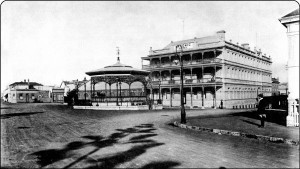 The Masonic Hotel historic photograph