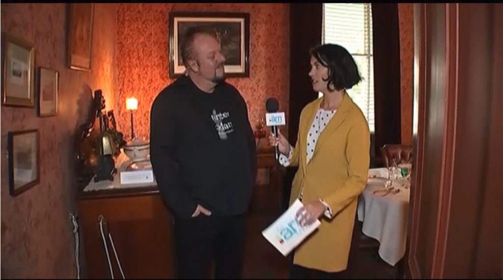 Ahead of halloween, reporter Shannon enlisted the help of a professional paranormal researcher to talk about the friendly ghosts at Alberton House. Paranormal consultant Mark Wallbank spoke to Duncan Garner .