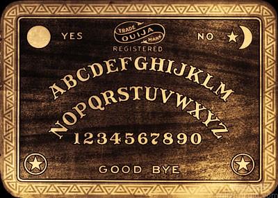 Early example of a Ouija Board, circa 1900