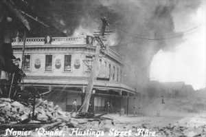 The Masonic Hotel, Napier Earthquake