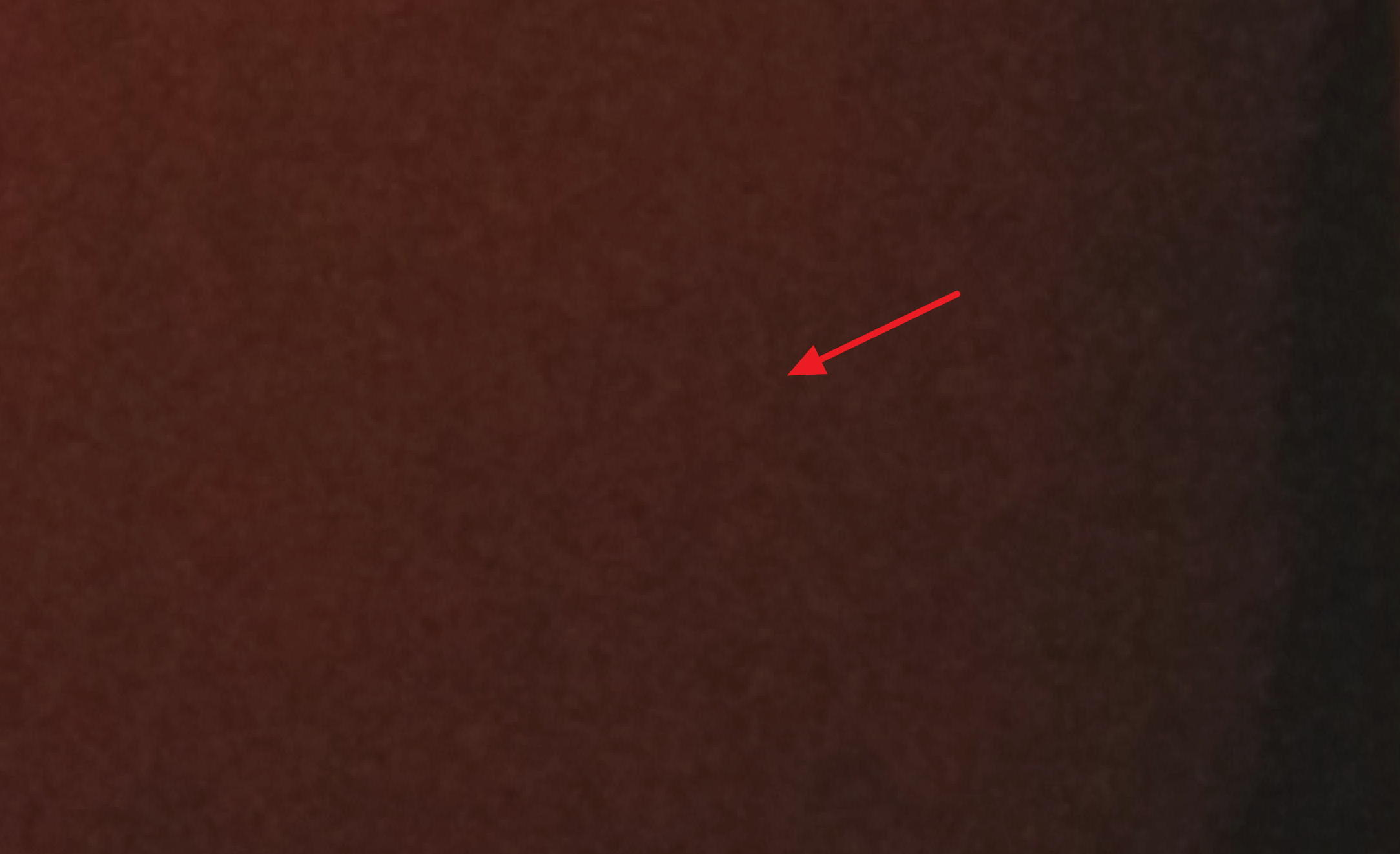 Help! There are creepy faces in my photograph when I zoom in!