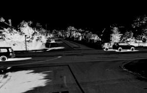 Pine Street Intersection - ©2012 Google