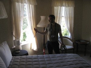James Gilberd from Strange Occurrences investigates the Waitomo Caves Hotel