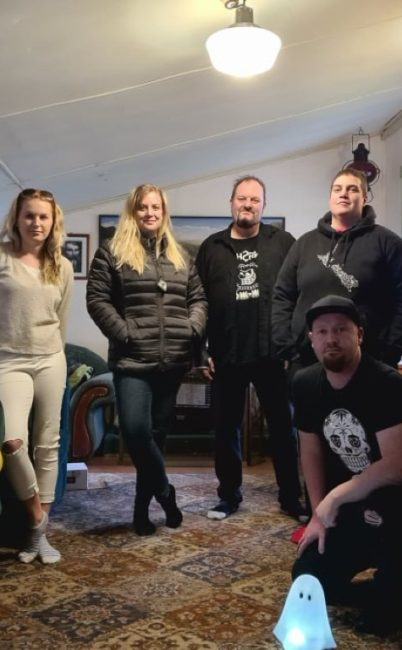 The Haunted Auckland team