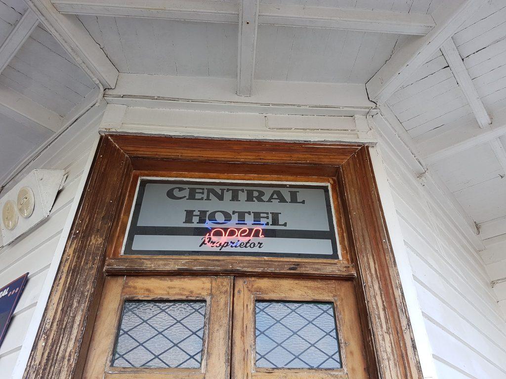 Front Door - Central Hotel - Dargaville