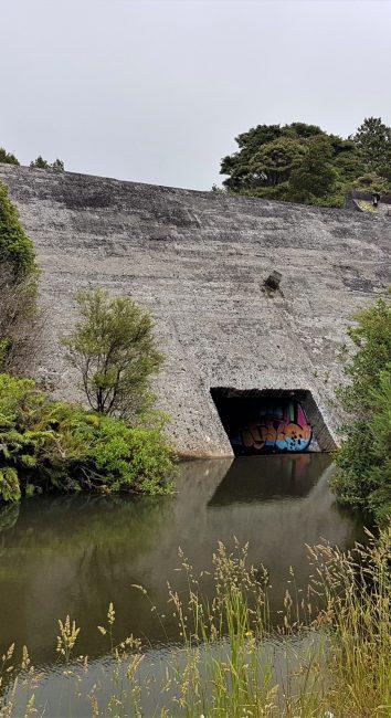 Old Huia Dam aka The Nihotupu Auxillary Dam. – West Auckland
