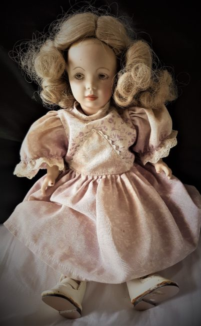 Angry homesick doll yearns for the Highlands