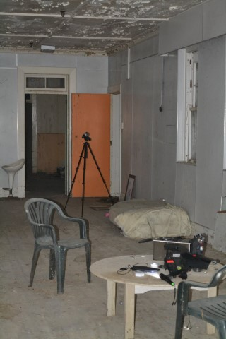 Possible EVP recorded at Kingseat, former Psychiatric Hospital