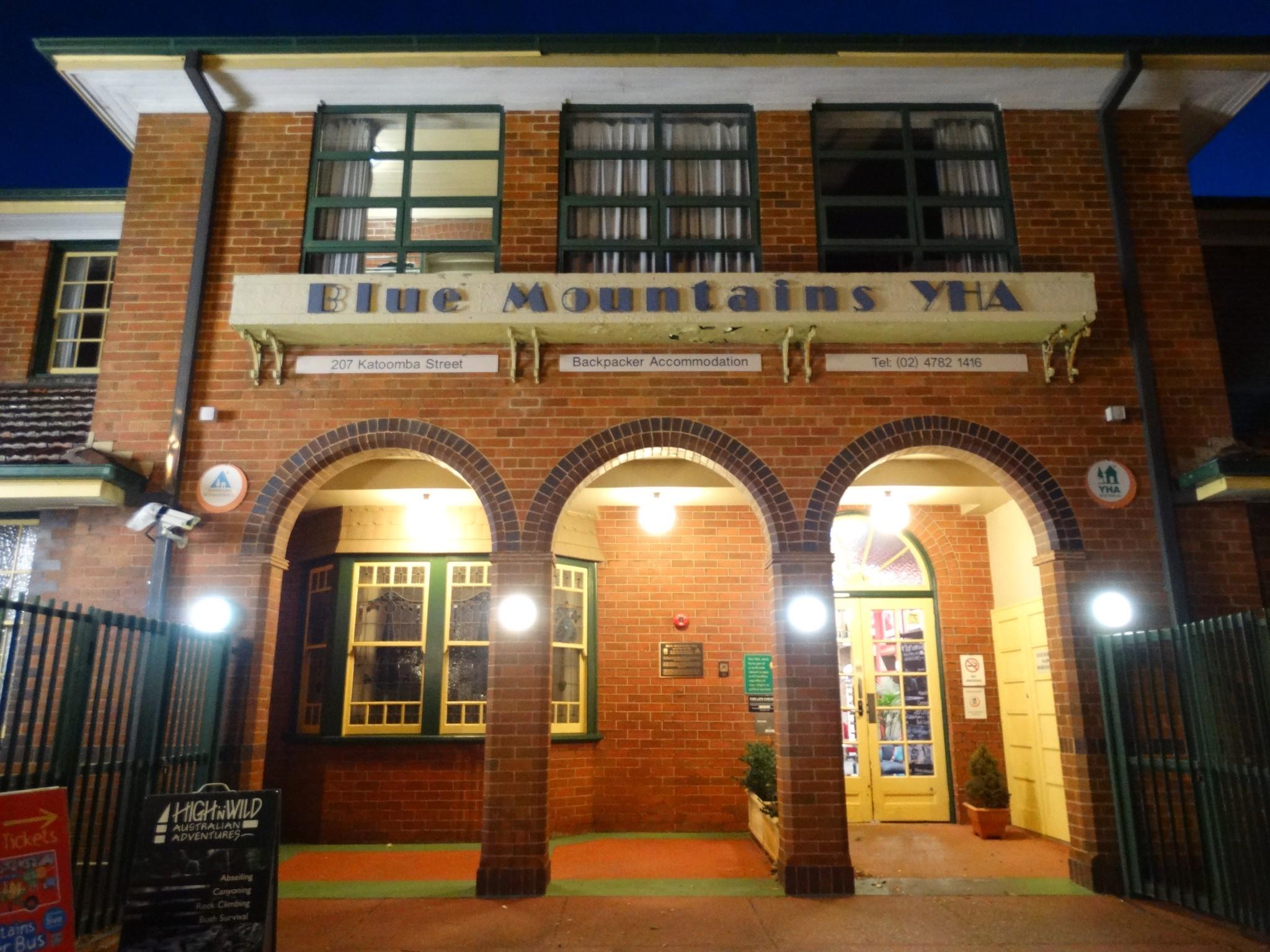 Blue Mountains YHA, Katoomba.