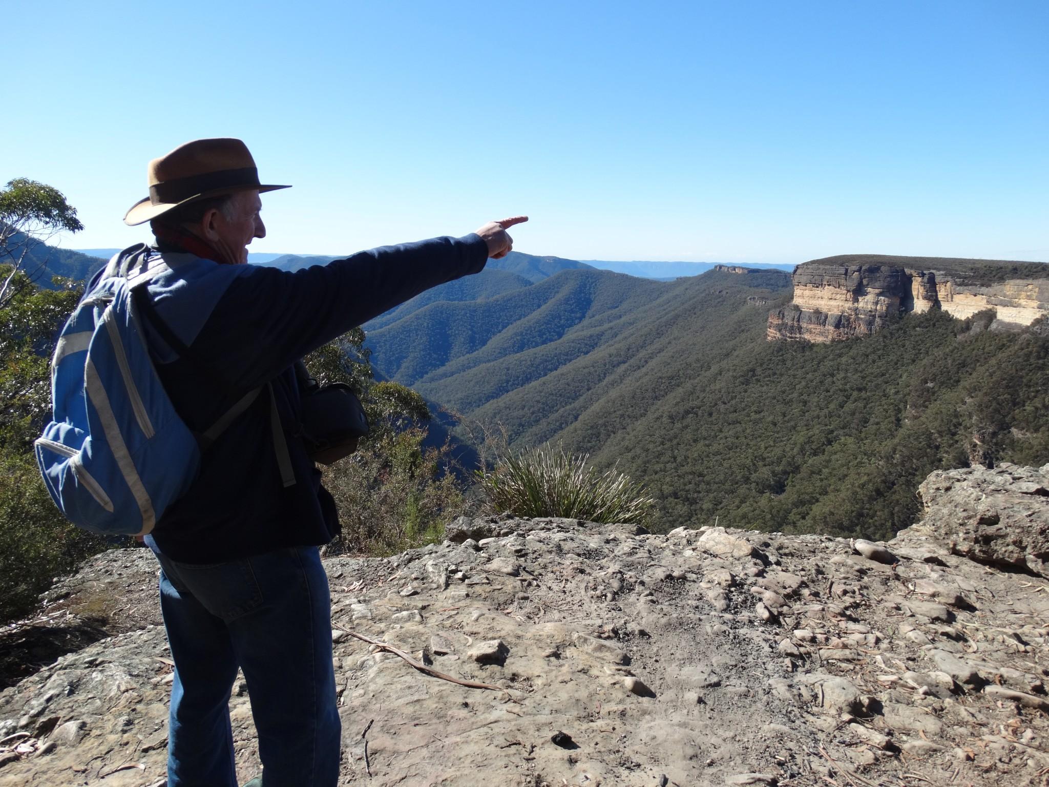 Kanangra Ranges (Australia) exploration with Rex Gilroy