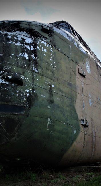 Derelict Bristol 170 Freighter plane – Awhitu