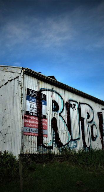 Rural Roadside shack