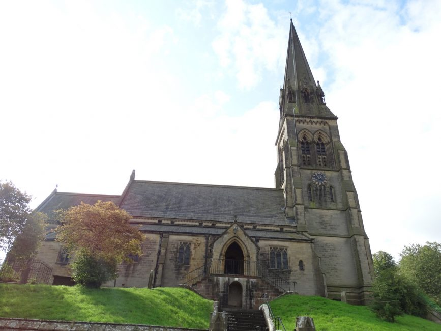 St Peter's Church – Edensor, Derbyshire.