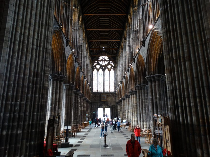 Glasgow Cathedral and cemetery – Glasgow, Scotland