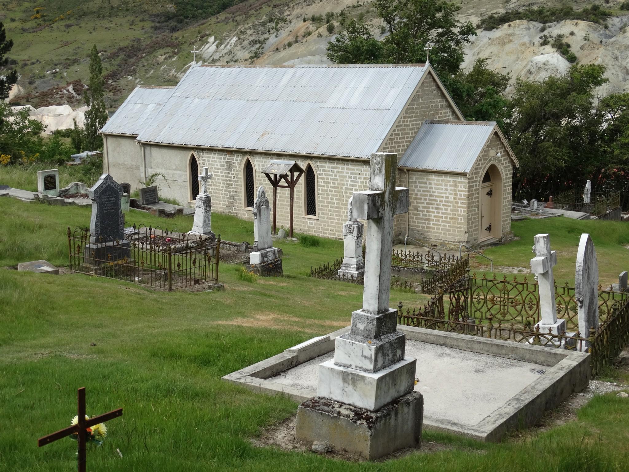 St Bathans Catholic Cemetery