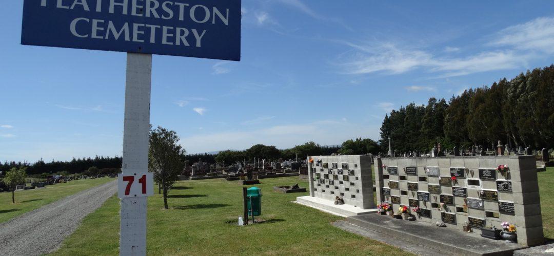 Featherston Cemetery – Featherston