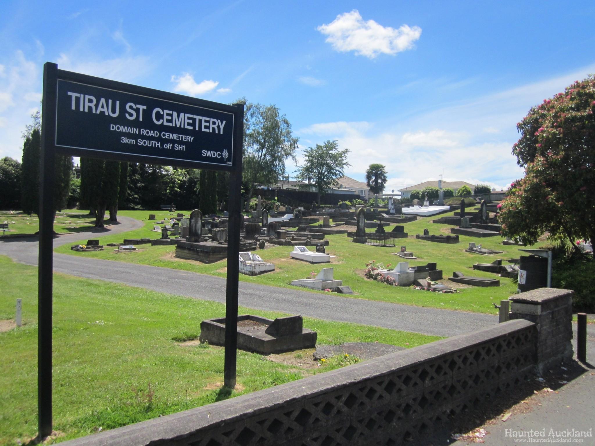 Tirau St / Puraruru Cemetery – Putaruru