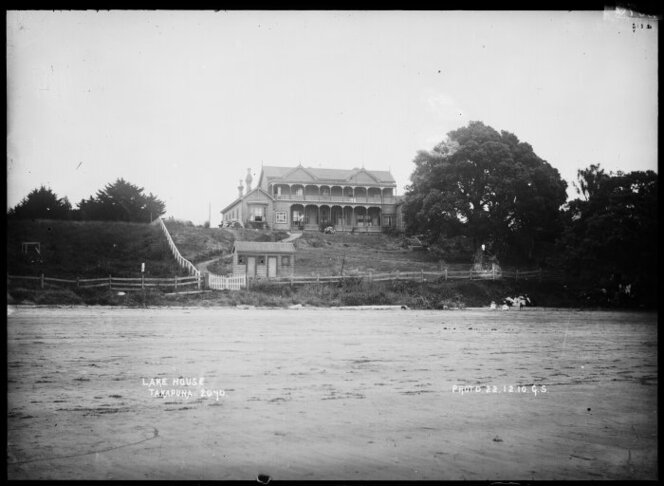 Lake House, Takapuna, Dec 1910